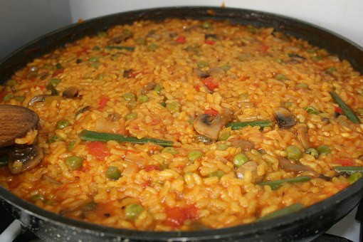 Vegetarian Paella Recipe For Dinner Party
