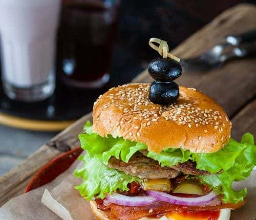 Vegetarian Burger That You Will Steal Your Heart