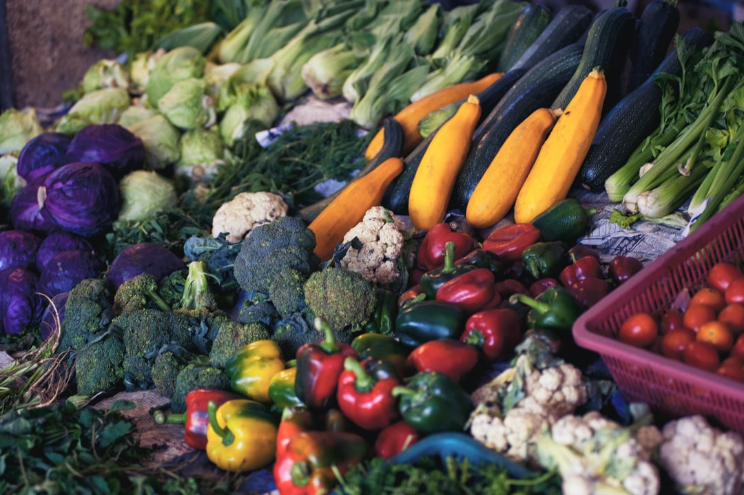 A variety of fresh produce